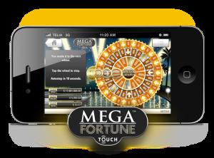 Mega Fortune fungerer også flott på mobil.